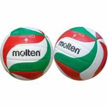Волейболна топка MOLTEN V5M1500, Размер-5, Бяла/ Червена/ Зелена