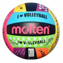 Волейболна топка MOLTEN MS 500LUV, Размер-5, Цветна